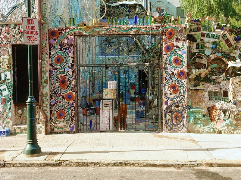 Arts Business Getting Strategic With Philadelphia S Magic Gardens