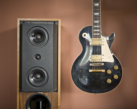 Classic Speaker with Les Paul