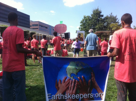 Earth's Keepers' Youth Agriculture and Entrepreneurship Program is one of the organization's many initiatives