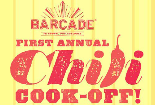 Barcade Chili Cook-off