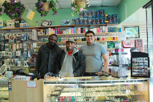 Akeem Dixon reaches out to local businesses