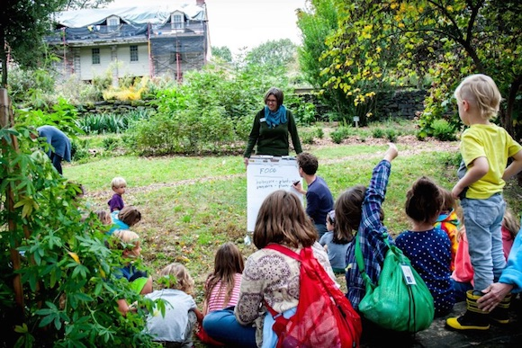 Homeschooler Days at Bartram's Garden