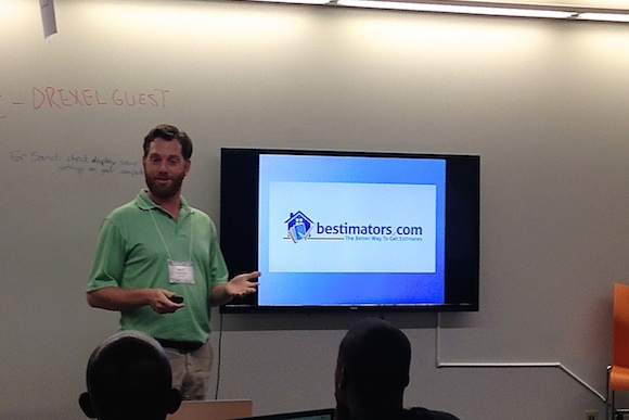 Philly-based Bestimators founder Matt Fineberg