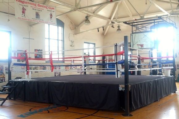 Boxing at Kingsessing Recreation Center