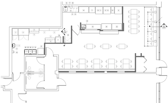 Design Your Own Restaurant Floor Plan: Restaurant Incubator Common Table Coming To West Philly