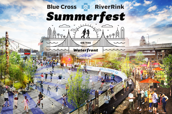 Summerfest includes an outdoor roller rink