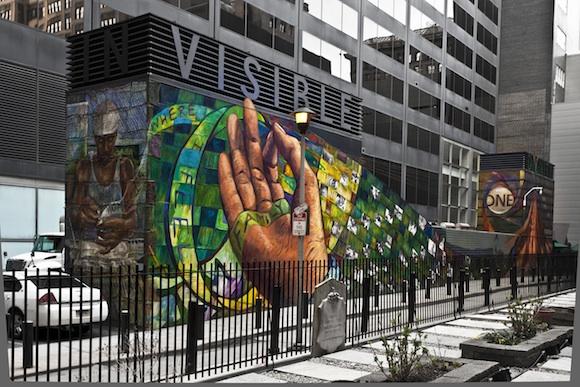National spotlight public art enters a new era for Common threads mural