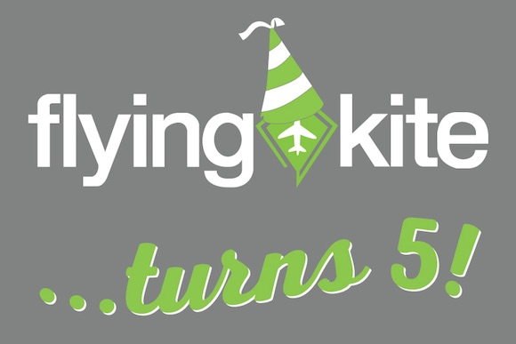 Flying Kite turns 5