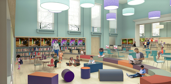 Logan Library's upcoming Children's Department
