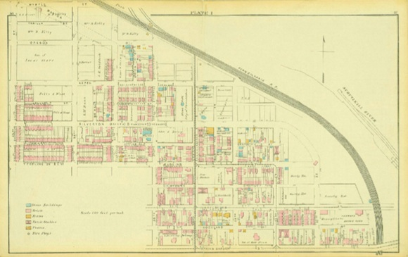 Atlas of the 24th and 27th Wards, West Philadelphia, 1878