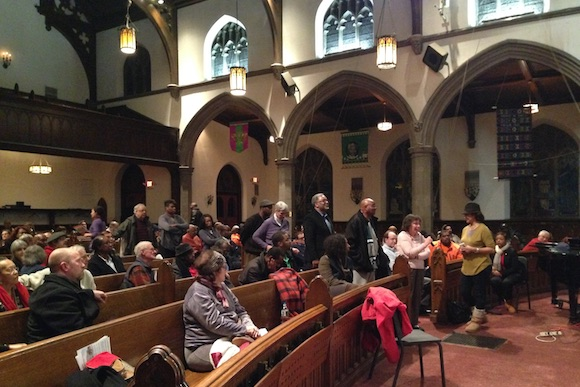 A community meeting in Germantown addresses the YWCA's fate