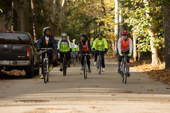 A group ride organized by Gearing Up