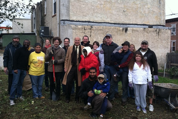 Community cleanup in Kensington with Councilman Mark Squilla
