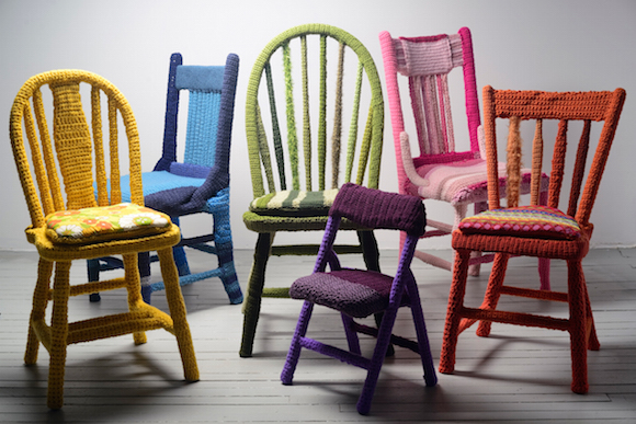 Chairs by Melissa Maddo