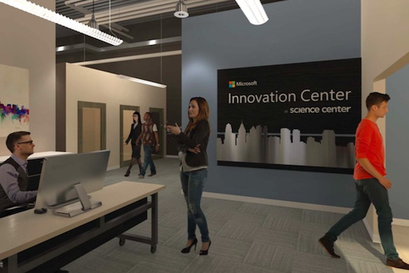 Microsoft Innovation Center comes to University City