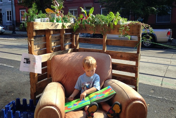 PARK(ing) Day rethinks the urban environment