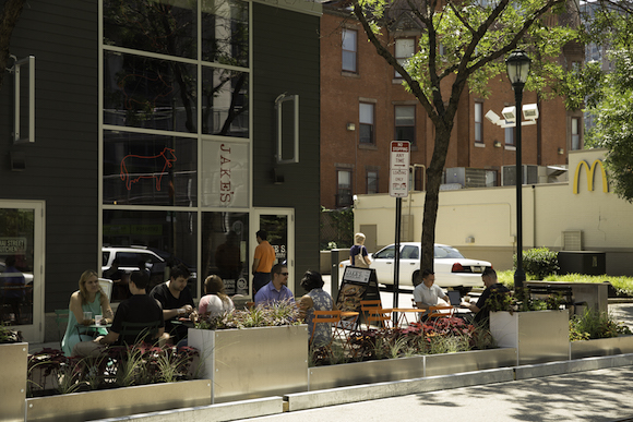University City's largest parklet