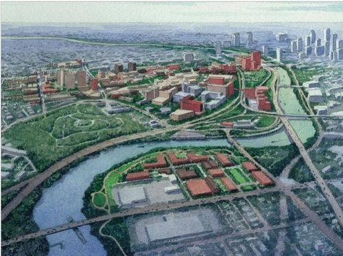 Penn's master plan for the lower Schuylkill