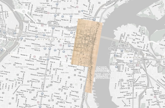 Recently Digitized Historic Maps Depict Much Smaller