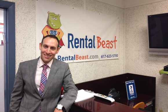 Ishay Grinberg of Rental Beast