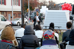 In West Philly, reclaiming vacant lots begins with a bulletin board