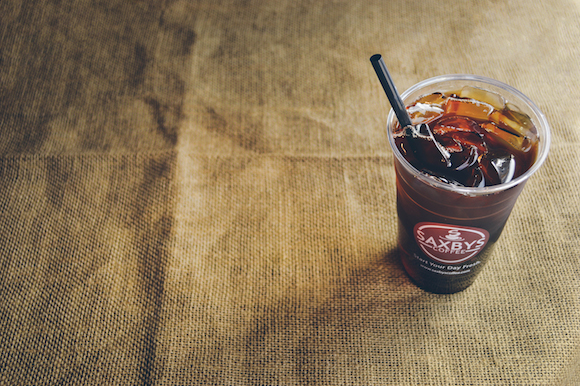 Cold brew coffee from Saxbys