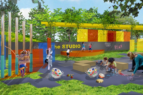 A look at the winning Play Space designs for Waterloo, Cobbs Creek and Mill Creek
