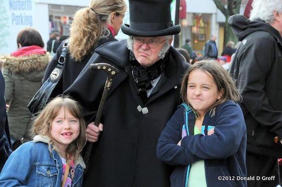 Scrooge in Narberth