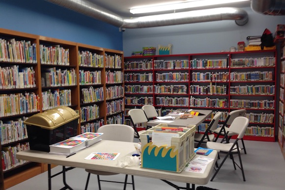 The temporary storefront library in Tacony