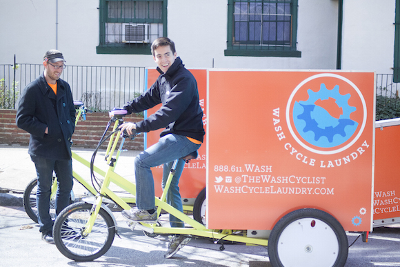 Wash Cycle CEO Gabe Mandujano goes for a spin