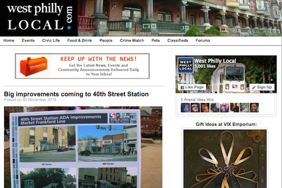 West Philly Local is online only