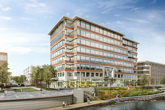 A rendering of 615 Waterfront Drive