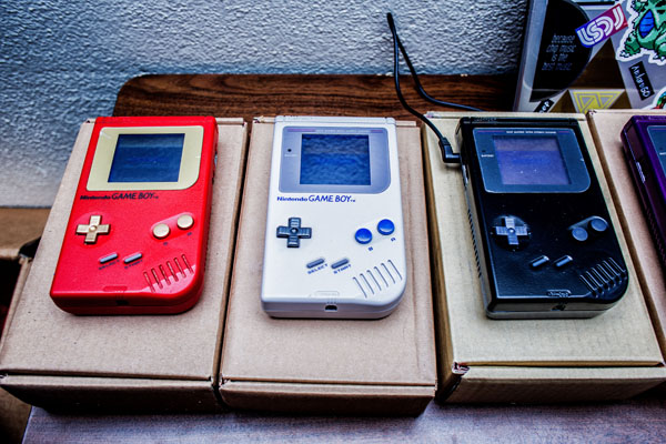 Musical gameboys