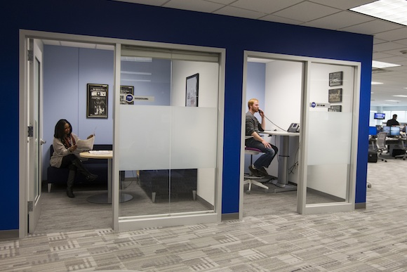 Private rooms at PennLive