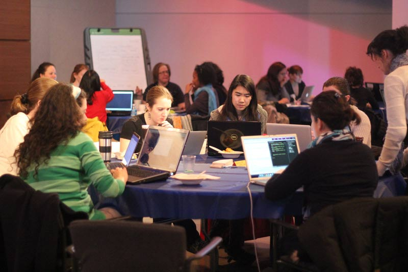 Philly's first LadyHacks lures women into the hackathon movement